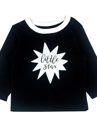 Реглан черный little stars