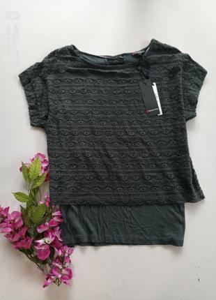 Стильная футболка от немецкого бренда street one, 38p