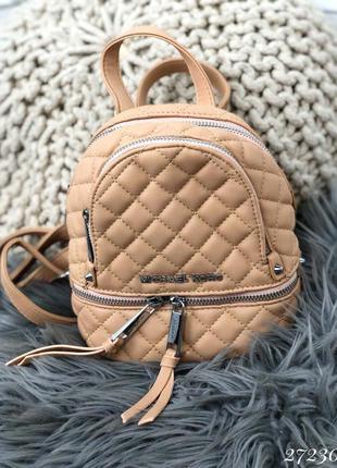 ❤ женский бежевый рюкзак michael kors  ❤