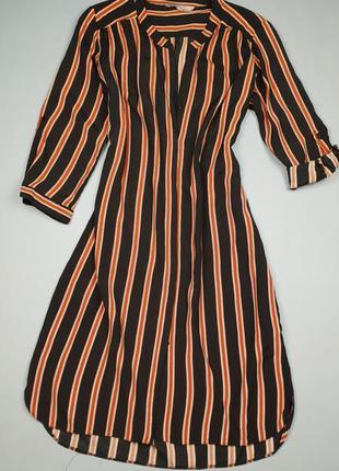 Платье рубашка в полоску redherring p.12/40