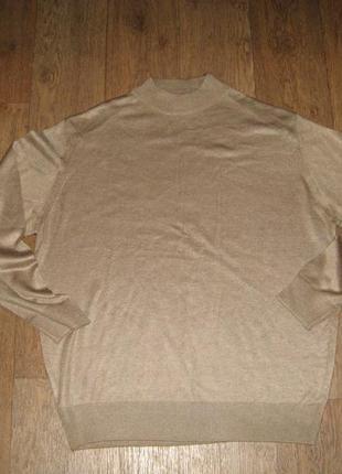 Мужской свитер/пуловер из полированной шерсти, состояние идеал...