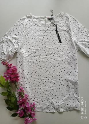 Фирменная футболка блуза от немецкого бренда street one l-xl