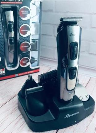 Оригинал Gemei 592 Машинка для стрижки бороды Беспроводная
