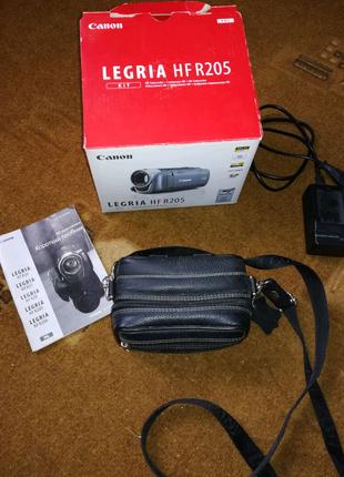 Видеокамера Canon legria hf r205