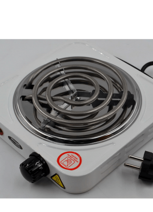 Электроплита 1 комфорка, спиральная, WimpeX WX-100B-HP, мощная