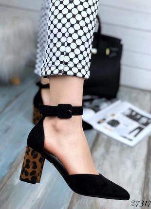❤ женские черные туфли ❤