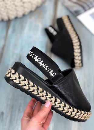 ❤ женские черные босоножки сандалии ❤