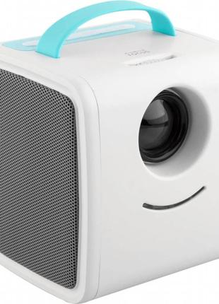 Детский мультимедийный проектор HRS Q2 Kids Story White/Blue