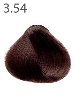 Стойкая крем-краска для волос «шелковое окрашивание», спелая в...