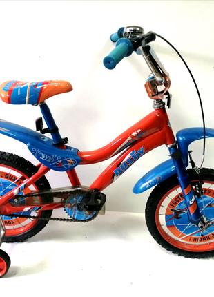 Велосипед 16 двухколесный DUSTY