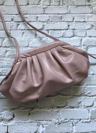 Маленькая сумка клатч облако пельмень the pouch