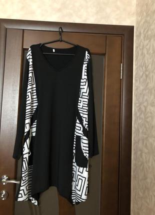 Красивейшее платье большого размера миди. новое. супер!