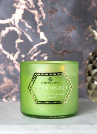 Ароматическая свеча colonial candles. производство сша