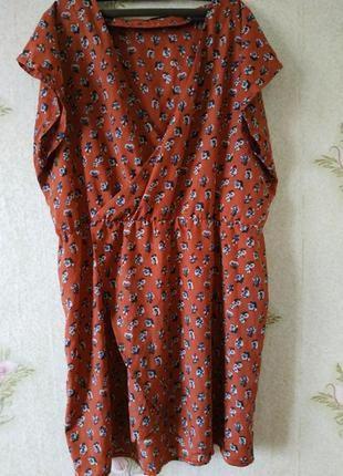 Лёгкое летние платья в цветочный принт большого размера love l...