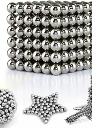Головоломка Неокуб Neocube 216 шариков 5мм в металлическом боксе
