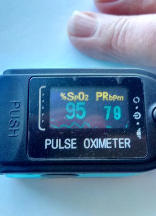 Пульсоксиметр Pulse Oximeter только 1 шт