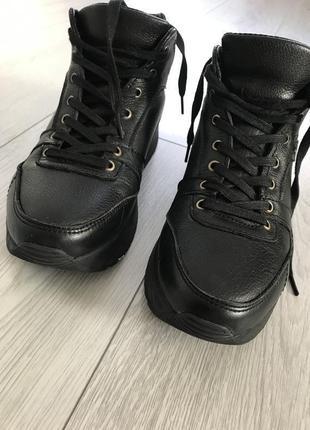 Зимние кроссовки, кроссовки, зимнее ботинки, зимние полусапожк...