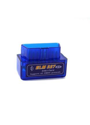 Адаптер для диагностики автомобиля OBD2 ELM327 mini версия 2.1