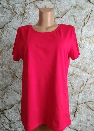 Красная футболка большого размера c&a