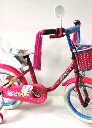 Велосипед 16 CORSO GIRL двухколесный