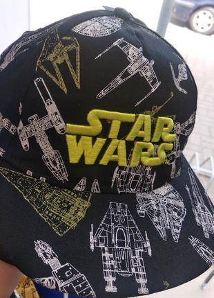 Кепка детская, кепка для мальчика, кепка star wars
