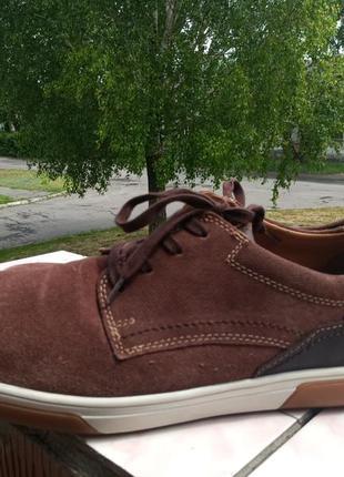 Мужские кожаные туфли fretz 47-48