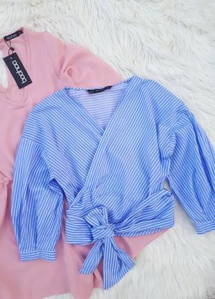 Шикарная стильная блузка на запах #zara#раз.s