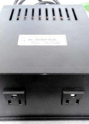 Конвертер 220-110в 1000Вт, преобразователь,адаптер с американс...