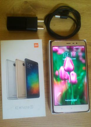 "Xiaomi redmi note 3 pro 2/16, Snapdragon 650, 5.5"", Global Versio"