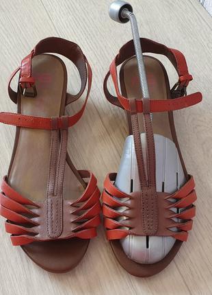 Footglove™ кожаные женские босоножки р. 6/39 Англия