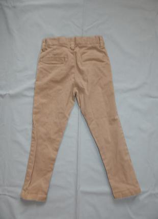Брюки штаны модные светлые на мальчика 3 года