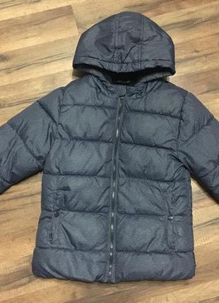 Куртка kiabi зимняя,6-8 лет,франция