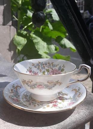 Чайная чашечка на блюдце Royal Standart England