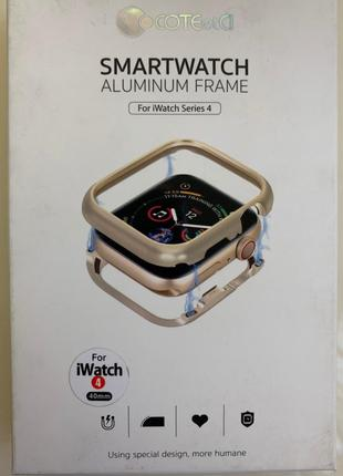 Защитный Бампер - Чехол на Apple Watch 4 40 mm (black)