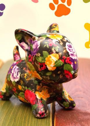 Собачка - копилка керамическая  №3