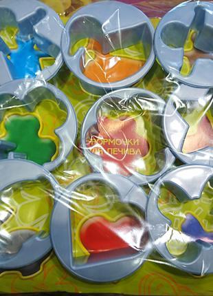 Форма для выпечки печенья  9 шт