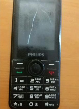 Philips Xenium E168 Dual Sim Black