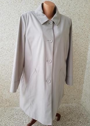 Пальто плащ куртка ветровка большого размера