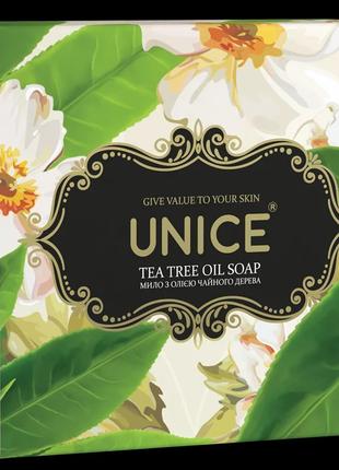 Натуральное мыло с маслом чайного дерева