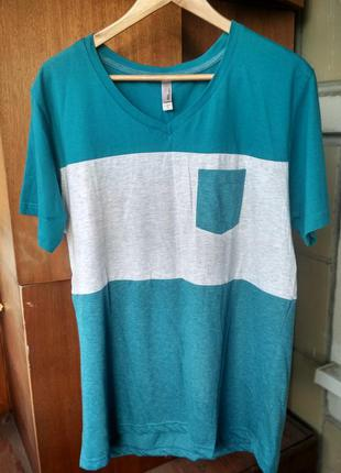 Мужская футболка mtl apparel сша, новая, хлопок, размер xl-xxl