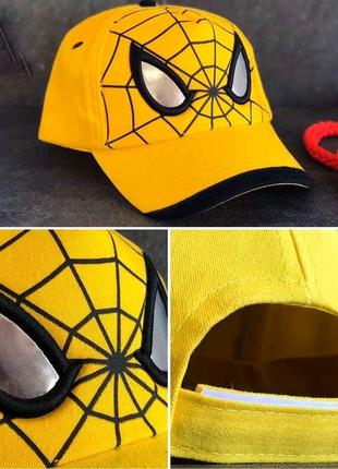 Детская кепка. Человек паук