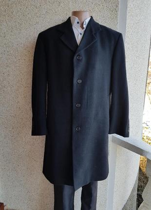 Демисезонное шыкарное удлиннённое пальто heine шерсть  кашемир