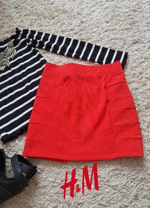 Шыкарная стильная юбка 🖤 h&m 🖤