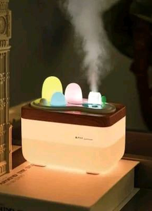 Увлажнитель воздуха Ночник Ароматизатор очиститель ароматерапия