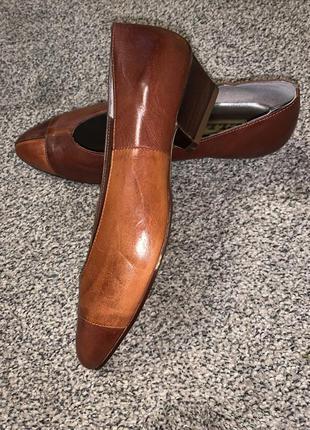 Идеальные кожаные туфли новые 🤩