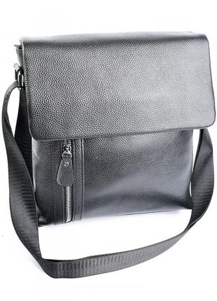 Кожаная сумка мужская чоловіча шкіряна