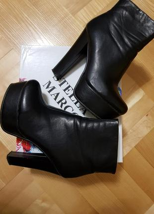 Демисезонные ботинки сапожки евро зима stella marco