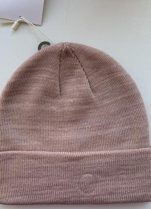Новая шапка , рожева шапка, розовая шапка.