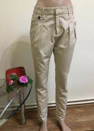 Базовые брюки zara xs