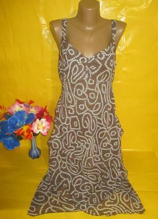 Очень красивое женское платье в пол грудь 49 см рр 14 !!!!!!!!!